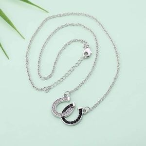 Jewelry - Horseshoe pendant necklace